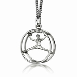My-Beads Sterling Silver Pendant 449